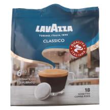 Kohvipadjad keskm. röst Lavazza Classico 125g