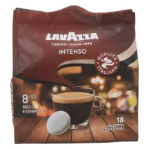 Kohvipadjad tume röst Lavazza Intenso 125g