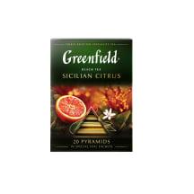 Juoda arbata GREENFIELD SICILIAN CITRUS, 36 g