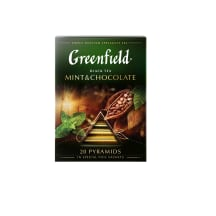 Juoda arbata GREENFIELD MINT&CHOCOLATE, 36 g