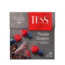 Melnā tēja Tess forest dream 36g