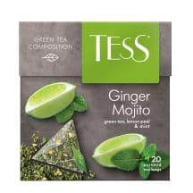 Tēja Tess zaļā Ginger Mojito Pyramids 20*1,8g