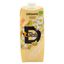 Tēja D'Tea Organic kumelīšu - rabarberu 0,5l