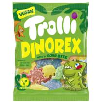 Rūgštūs guminukai TROLLI DINO REX, 100 g