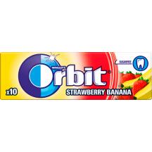 Kramt.guma su sald. ORBIT STRAWBERRY&BAN.,14g