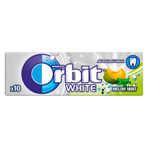 Närimiskumm White melon/mint Orbit 14g