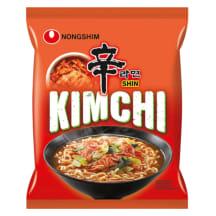 Nūdeļu zupa Nongshim Kimchi Ramyun 120g
