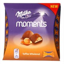 Šokolaadikommid toffee pähklitega Milka 97g