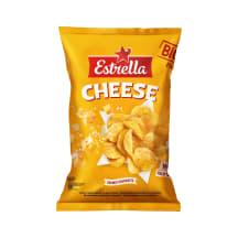 Čipsi Estrella ar siera garšu, rievoti, 180g
