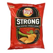 Čipsi Lay's Strong ar čilli un laima g. 265g