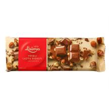 Šokoladas su lazdyno riešutais LAIMA, 200 g