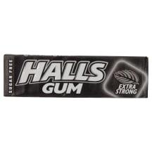 Košļājamā gumija Halls Gum extra strong 14g