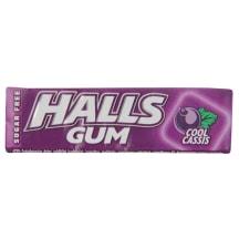 Kramtomoji guma HALLS COOL CASSIS, 14 g