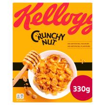 Brokastu pārslas Kellogg's Crunchy Nut 330g