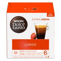 Kafijas kapsulas Nescafe Lungo 16x6,5g