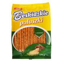 Šiaudeliai su sezamo sėklomis BESKIDZKIE,175g
