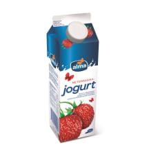 Jogurt metsmaasikaga Alma 1kg