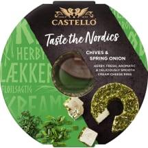 Kreminis sūris su laišk. česn. CASTELLO, 125g