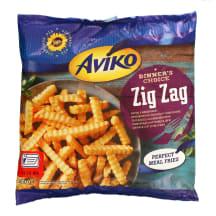 Šald. gruzdintos bulvytės AVIKO ZIG ZAG, 450g