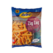 Šald. gruzdintos bulvytės AVIKO ZIG ZAG, 750g