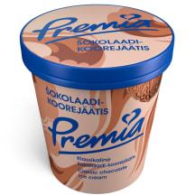 Koorejäätis šokolaadi Premia 240g/0,5l