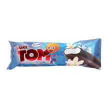 Glasuurjäätis vanilje Tom 60g/90ml