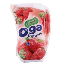 Dzeramais jogurts Oga zemeņu 1kg