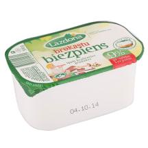 Biezpiens Lazdona brokastu 9% 380g