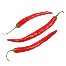 Raudonos aitriosios paprikos, 1kl.,1kg