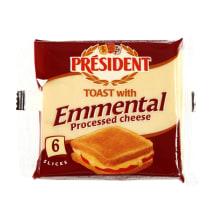 Raik. lyd. sūris PRESIDENT EMMENTAL, 18%,120g