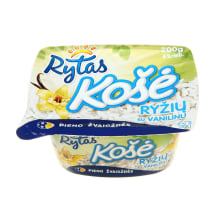 Ryžių košė su vanilinu RYTAS, 6%, 200g