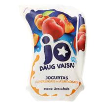 Jogurtas su persik. ir abrikos. JO, 2,5%,900g