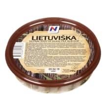 Lietuviška silkių fil.aliej., NORVELITA, 210g