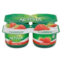Jogurt maasika Activia 4x120g