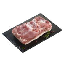 Atšaldyta kiaulienos šoninė be kaulo, 1kg
