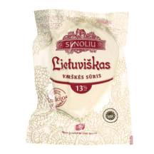 Lietuviškas varškės sūris SENOLIŲ, 13 %, 1 kg