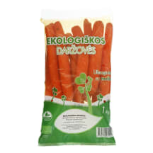 Ekologiškos morkos, 1 kg