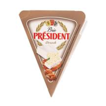 Juust Brie kreekapähklitega President 125g