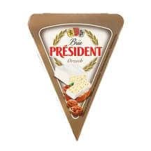 Sūris BRIE PRESIDENT su riešutais, 32%, 125g