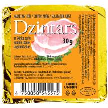 Kausētais siers Dzintars ar šķiņķi 30g