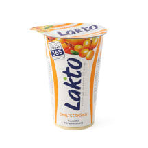 Raudz. piena produkts Lakto smiltsērkšķu 220g