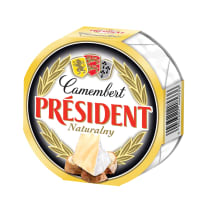 Valgehallitusjuust Camembert President 120g