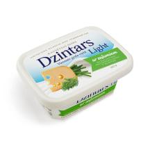 Kausētais siers Dzintars Light ar zaļum. 180g
