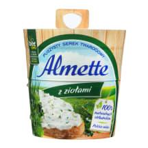 Varškės sūris ALMETTE su žalumynais, 150g