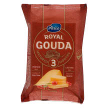 Juust Royal Gouda Red Valio 250g