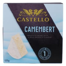 Juust Camembert Castello 125g