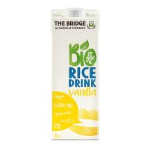Vanilės skonio ryžių gėrimas BIO, 1l