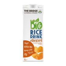 Rīsu dzēriens The Bridge mandeļu BIO 1l