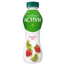 Dzer. jogurts Activia zemeņu un kivi 300g