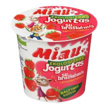 Ekol. jogurtas MIAU brašk., 2,9 - 3,8%, 125g
